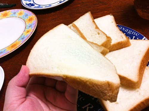 パン職人がほんのり甘めのしっとり食パン作ったよー