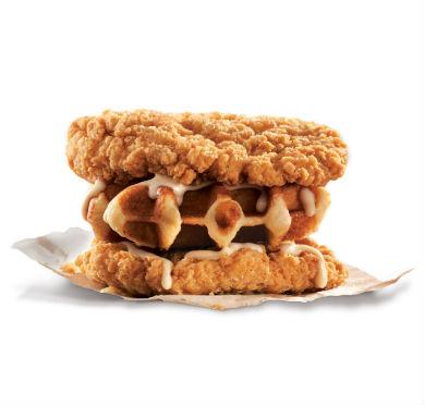 カナダのKFCが「チキンでワッフルを挟んだ」サンドを発売 ソースはオリジナルのカナディアンメープルアイオリソースを使用