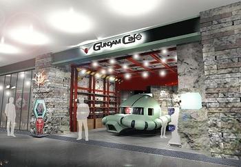 幕張にガンダムの敵 「ジオン軍」のカフェ