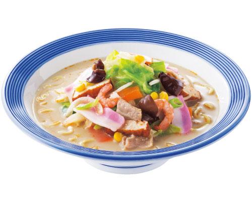 ワイ、リンガーハットの長崎ちゃんぽん麺2倍をペロリ