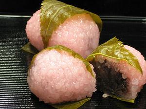 【画像】こういう桜餅を食べてるヤツがいるらしいwwwwww