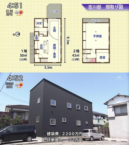 2000万円(坪単価72万円)の埼玉に建てた新築一戸建て住宅がこちらwwwwwwwwwwwwww