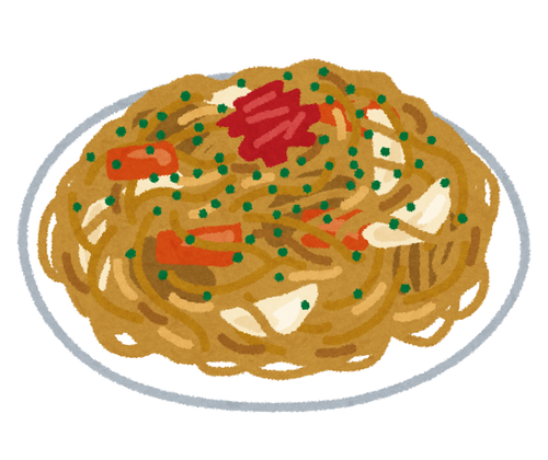 【悲報】ワイ、ご飯の上に焼そばをのっけた「焼そば丼」を食べてる事を馬鹿にされる