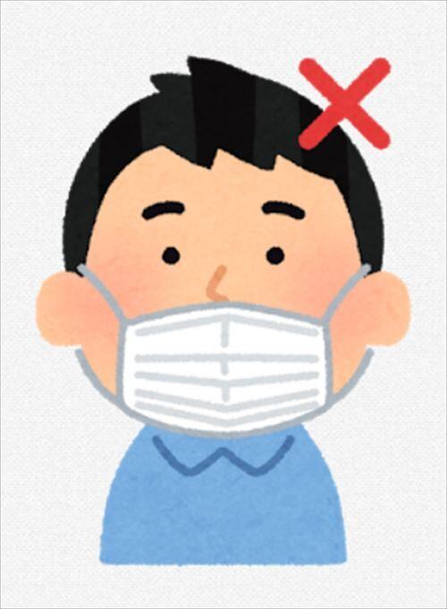 【悲報】鼻マスクの受験生、失格に