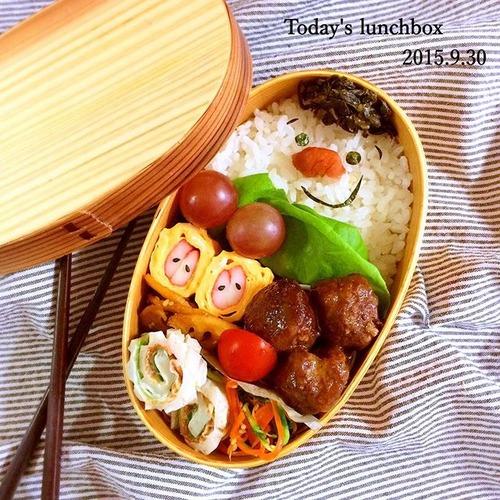 既婚者の昼食の画像がこれ、独身の昼食がこれ