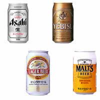 国産ビール4社で一番うまいのはどこなの?