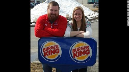 「バーガー」さんと「キング」さんが結婚 バーガーキングがお祝いに挙式費用を全額負担