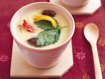各地方の茶碗蒸しの具材・作り方などを教えてください