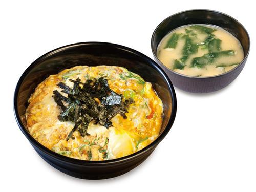 松のや・松乃家・チキン亭、朝定食メニューに「玉子丼」新登場!(税込290円) とろとろの玉子と特製和風だし みそ汁付き