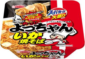 スーパーカップがよっちゃんイカとコラボ 新商品発売