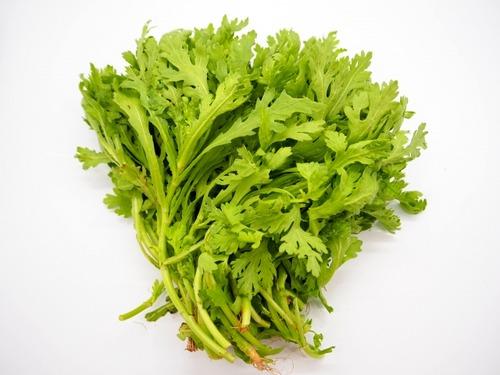 福岡市の春菊から基準値180倍の農薬を検出 食べると嘔吐や失禁も 春菊から基準値180倍の農薬