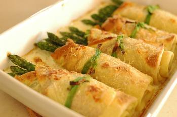 アスパラガスって茹でてマヨネーズ、塩コショウ炒めの他に美味しく食べれる調理法ってある?