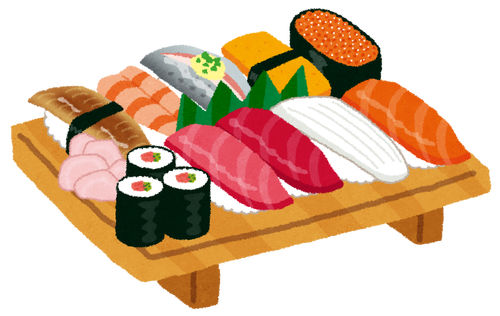 筋トレした日の夕飯に寿司ってどう?