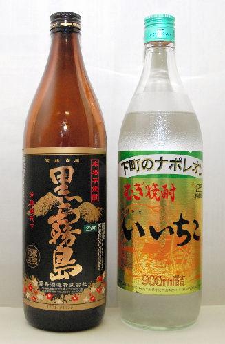 「黒霧島」、初の焼酎売上高トップ 「いいちこ」抜く