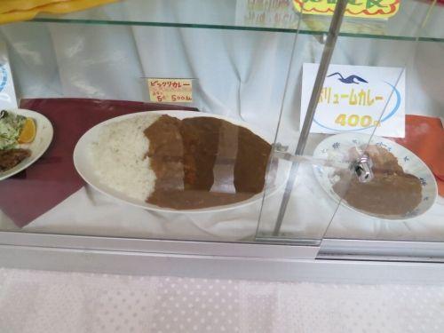 諏訪東京理科大学のビックリカレー 1皿5人前2・5キロで500円