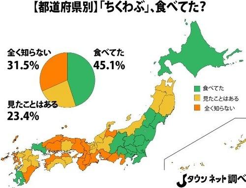 「ちくわぶ」はローカルフードだった! 東海以西は「全く知らない」多数派