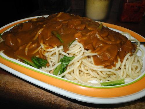 どう思うこのスパゲッティ?
