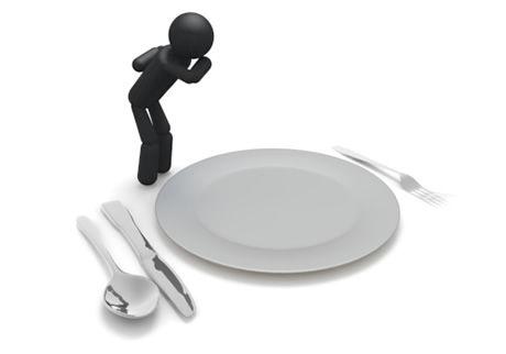 レンゲやスプーンを皿にカァン!カァン!とぶつけながら飯食う奴の呼称