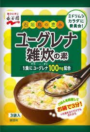 永谷園、ミドリムシ入り雑炊の素を発売