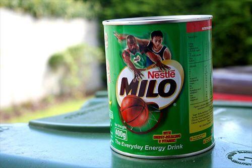 「ミロ」っていうココアみたいな飲み物覚えてるか?
