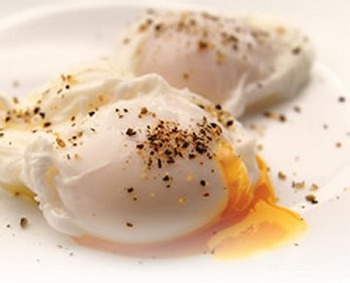 200 Poached Eggs
