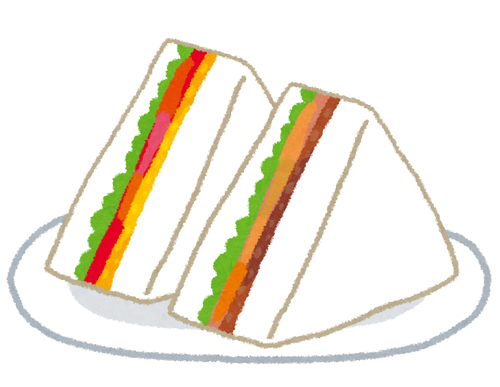 ワイの好きなサンドイッチで打線組んだwwwwww