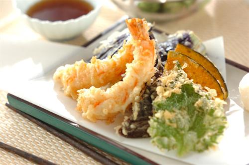天ぷらを上手く揚げたいのだが