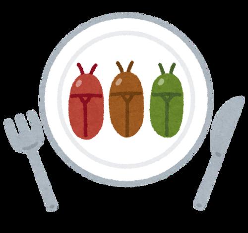 昆虫を主食にせざるを得ない食料事情になったらどうする?