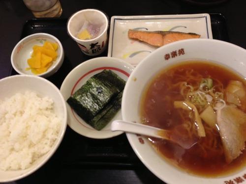 幸楽苑の朝定食wwwwwwwwwwwwwwwwwwwww
