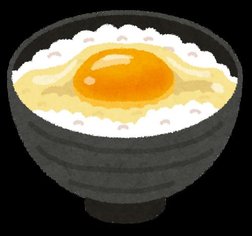卵かけご飯生活10日目ぐらいなんだけど