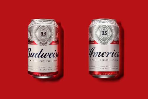 「バドワイザー」がビール名を「アメリカ」に改名