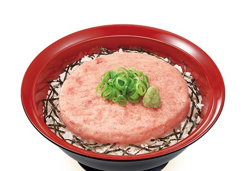 【画像】すき家のまぐろたたき丼が「フリスビー丼」だと批判されているのを受けて、改善せずにサンプル画像をフリスビーにしてしまう