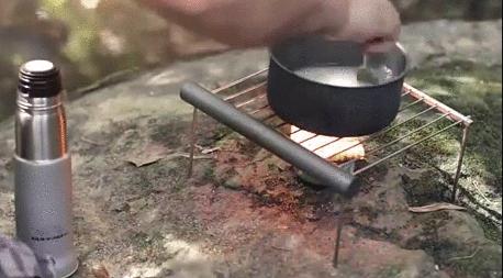 ツナ缶で白米を炊くというサバイバル術