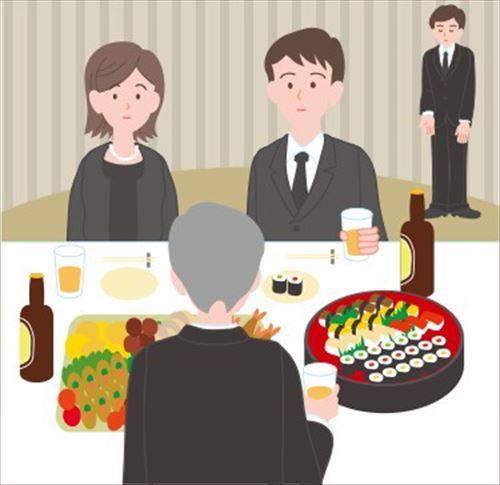 葬式の会食にて 祖母「すみません残りの持ち帰りいいですか?」従業員「だめです」