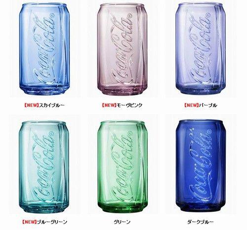 マクドナルドのコークグラス再登場、新カラー4色を加えた6種類を展開。