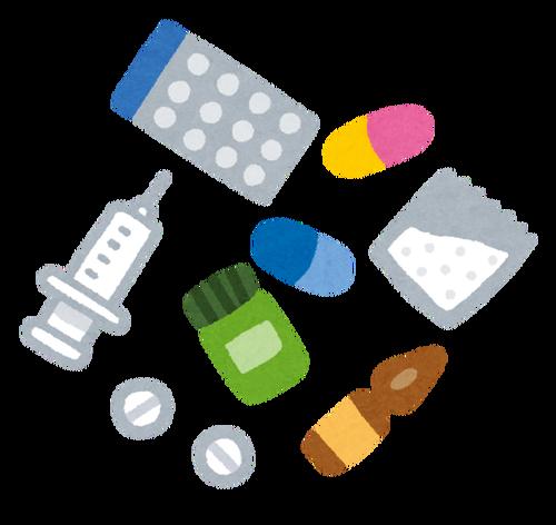 糖尿病患者のワイが飲む薬の数wwwwwwwwww