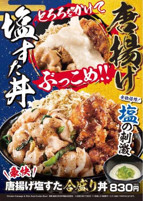 【画像】すた丼の新メニュー、ついに本気を出す
