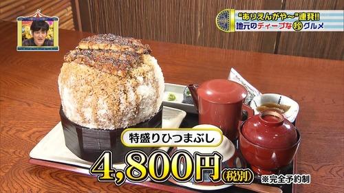 彡(^)(^)「やっぱ名古屋来たらひつまぶし食わんとな!特盛で頼むやで~」