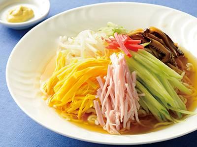 冷やし中華で白飯食える?
