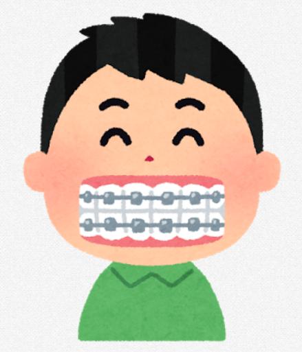 歯列矯正中の人おるか?