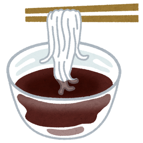 素麺の麺つゆに入れるもの