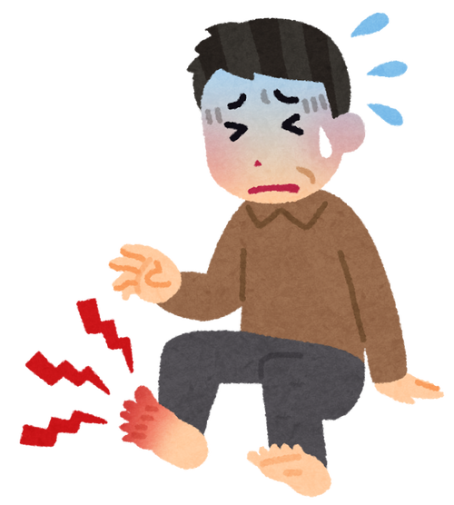 【悲報】痛風が痛い