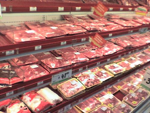 ・・・あの・・・どうして肉を食べるんですか?
