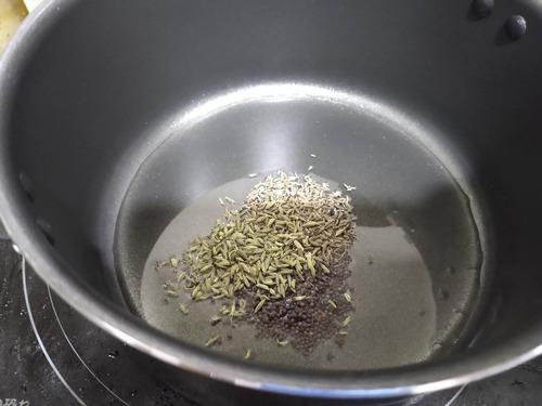 インド風カレー作るよー