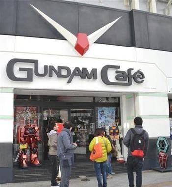 「ガンダムカフェ」全国展開へ 大阪など商圏の大きい都市部から