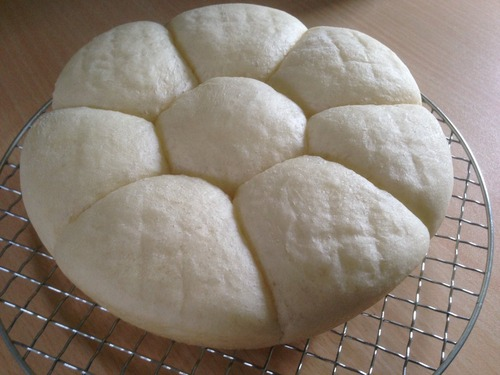 炊飯器でパンを作った