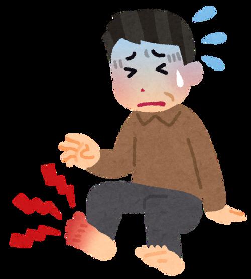 【悲報】30代の痛風が激増「メチャメチャ痛いから覚悟しておけ」