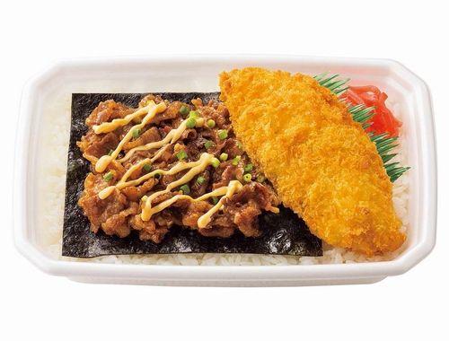ほっともっと、のり弁当と牛めしが合体した「のり牛」を発売 価格は390円