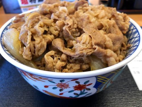 吉野家で超特盛食ってきたけど、すき家のメガ牛丼には及ばないな