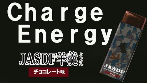 チョコレート味の栄養補助食品「JASDF羊羹」ついに完成